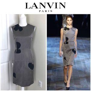 LANVIN Paris Designer Ready to wear Dress Sz 8